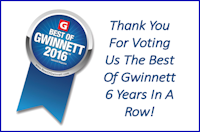 Best of Gwinnett Six Years in a Row, Above Physical Therapy
