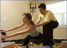 Gyrotonic expansion system, physical therapy